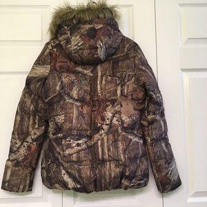 7a39d74636955 Mossy Oak Jackets & Coats - Women's Mossy Oak Break Zip Infinity Puffy  Jacket